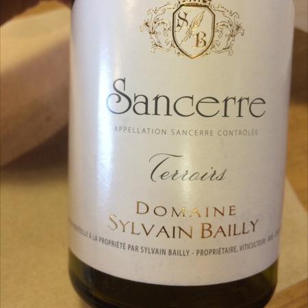 Domaine Sylvain Bailly Terroirs Sancerre Sauvignon Blanc 2016