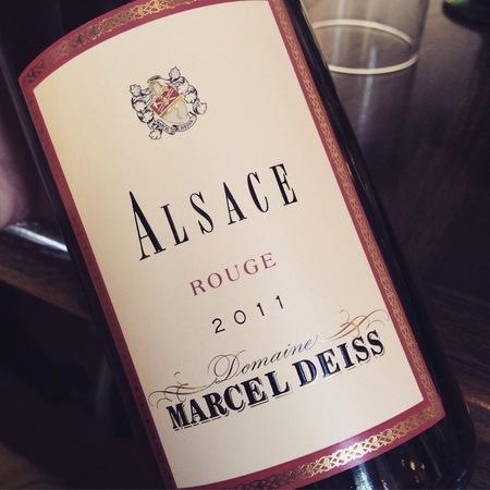 Domaine Marcel Deiss Alsace Rouge Pinot Noir 2010