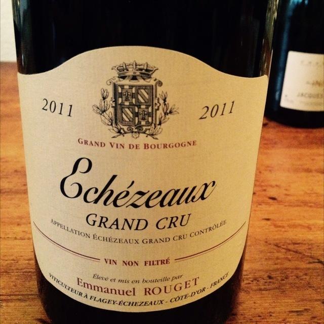 Echezeaux Grand Cru Pinot Noir 2011