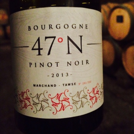Marchand-Tawse 47˚ N Bourgogne Pinot Noir 2014