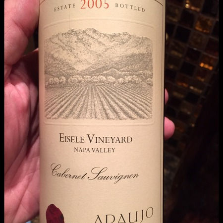 Araujo Estate Eisele Vineyard Cabernet Sauvignon 2005
