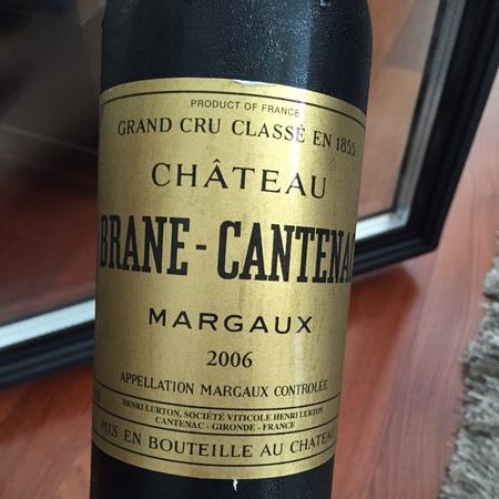 Château Brane-Cantenac Margaux Red Bordeaux Blend 2000