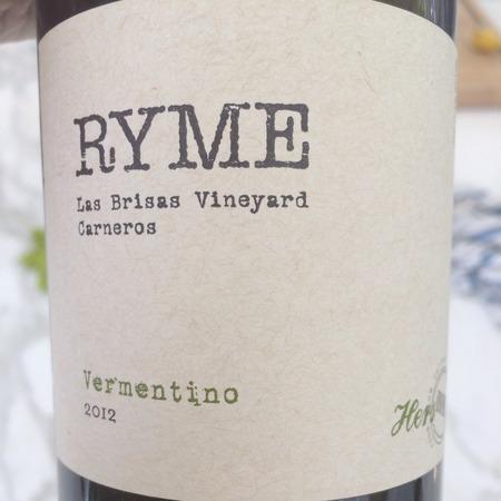 Ryme Cellars 'Hers' Las Brisas Vineyard Vermentino 2016