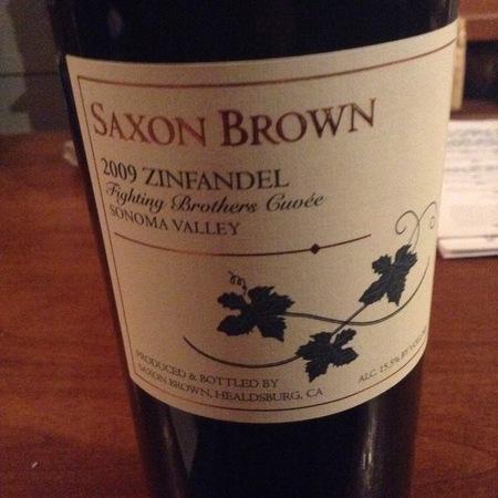 Saxon-Brown Fighting Brothers Cuvée Zinfandel 2013