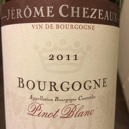 Jérôme Chezeaux Bourgogne Pinot Blanc 2015