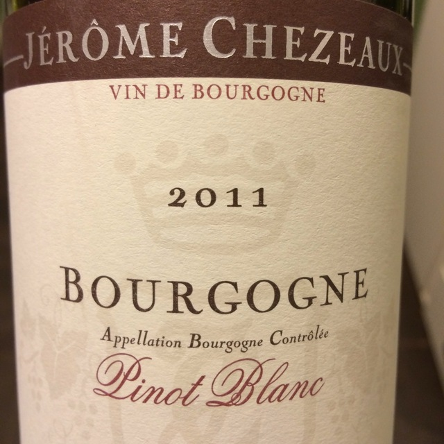 Bourgogne Pinot Blanc 2014