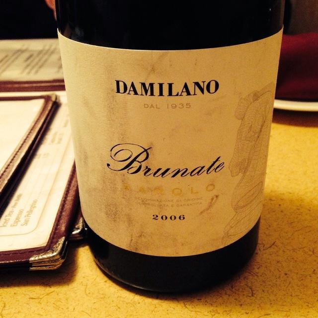 Brunate Barolo Nebbiolo 2006