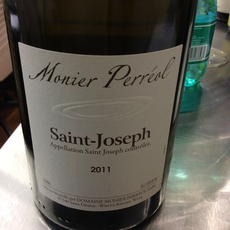 Domaine Monier Perréol St. Joseph Blanc Marsanne 2015