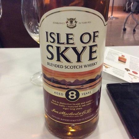 Ian McLeod & Co. Ltd. Isle of Skye Blended Scotch Whisky Aged 8 Years NV