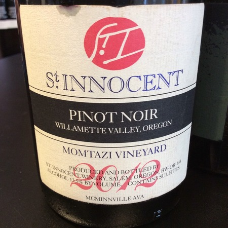 St Innocent Winery Momtazi Vineyard Pinot Noir 2014