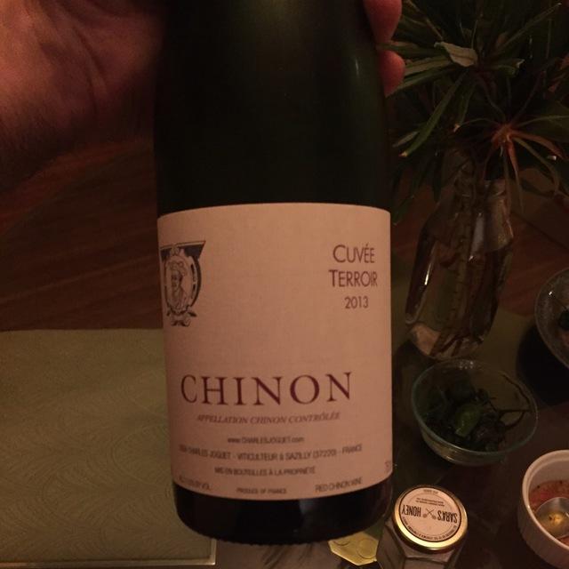 Cuvée Terroir Chinon Cabernet Franc 2013