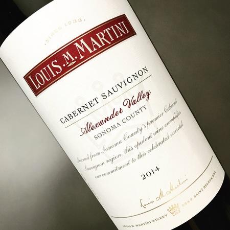 Louis M. Martini Alexander Valley Cabernet Sauvignon 2014