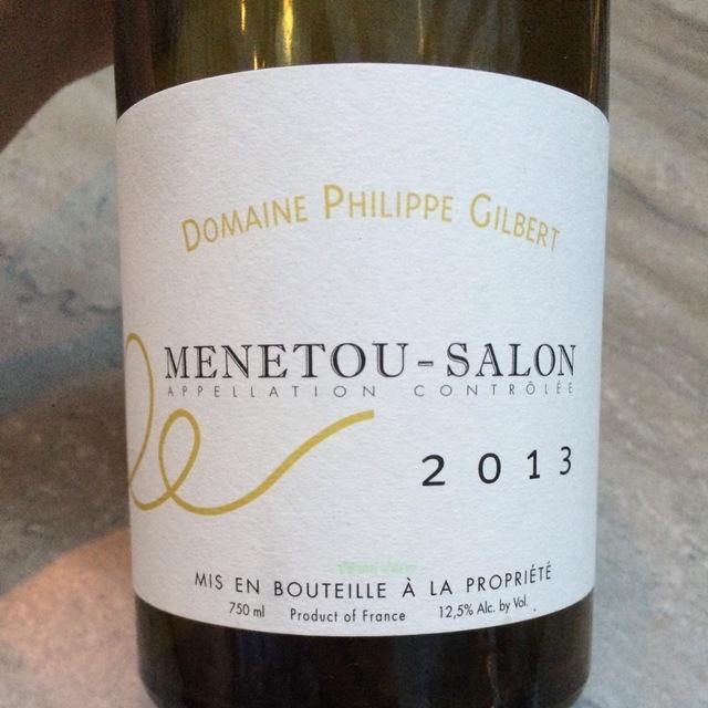 Menetou-Salon Sauvignon Blanc 2013