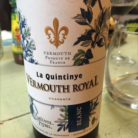 La Quintinye Blanc Vermouth Royal NV (375ml)