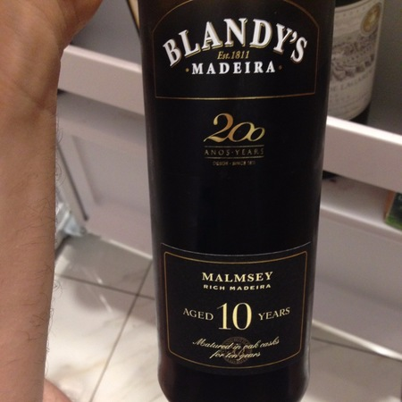 Blandy's 10 Years Old Madeira Malmsey NV