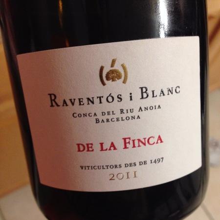 Raventos i Blanc De la Finca Conca del Riu Anoia Barcelona Macabeo-Xarel-lo-Parellada 2011