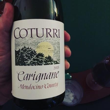 Coturri Winery Mendocino County Carignane 2016