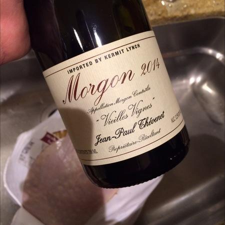 Jean-Paul Thevenet Vieilles Vignes Morgon Gamay 2014