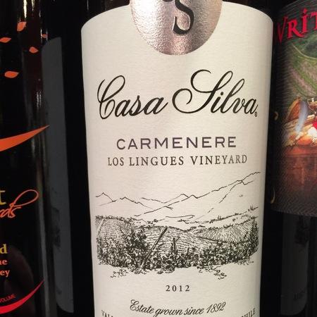 Casa Silva Los Lingues Vineyard Carménère 2014