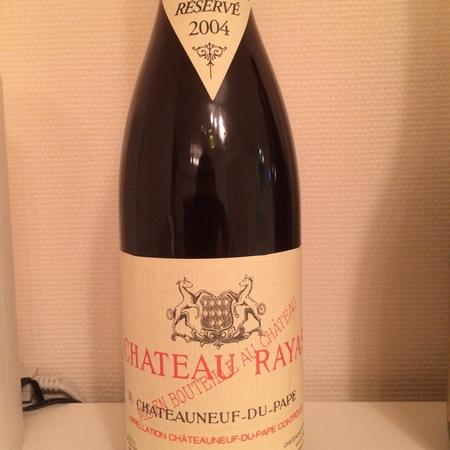 Château Rayas Réservé Châteauneuf-du-Pape Grenache Blend 2004