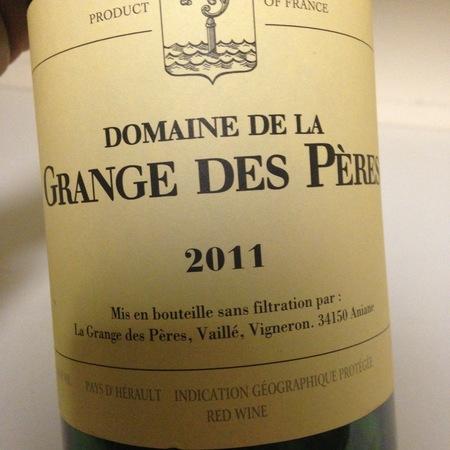 Domaine de la Grange des Pères Vin de Pays de l'Hérault White Rhone Blend 2011