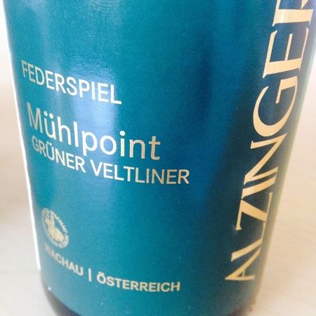 Alzinger Mühlpoint Federspiel Grüner Veltliner 2015