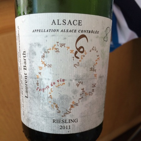 Domaine Laurent Barth Alsace Riesling 2015