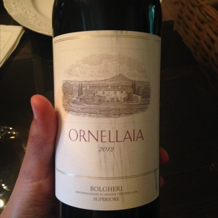 Tenuta dell'Ornellaia Bolgheri Red Bordeaux Blend 2012 (1500ml)