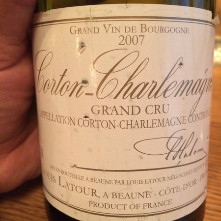 Louis Latour Corton-Charlemagne Grand Cru Chardonnay 2014