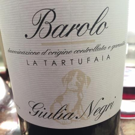 Giulia Negri La Tartufaia Barolo Nebbiolo 2010