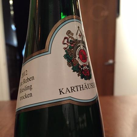 Karthäuserhof Alte Reben Spätlese Trocken Riesling 2012