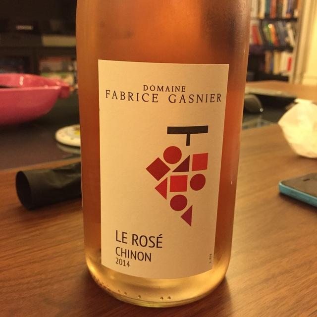 Le Rose Chinon Cabernet Franc Rosé 2015