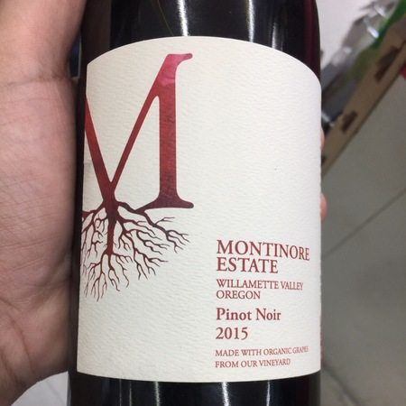 Montinore Estate Willamette Valley Pinot Noir 2015