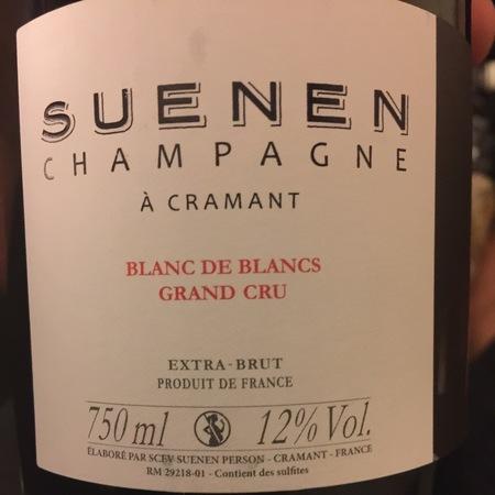 Suenen Extra Brut Blanc de Blancs Grand Cru Champagne Chardonnay NV
