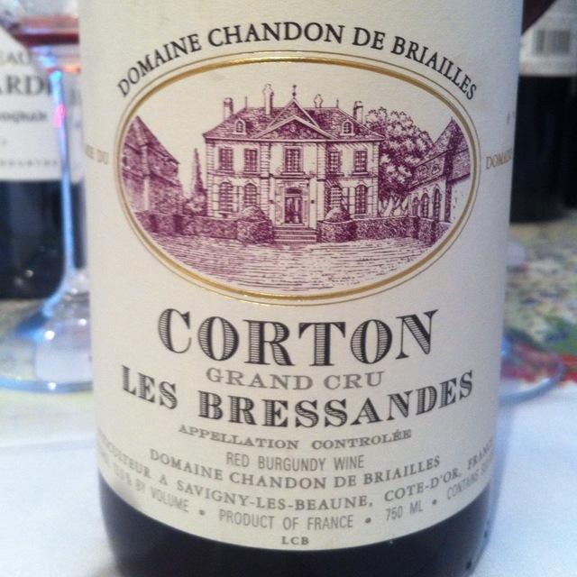 Les Bressandes Corton Grand Cru Pinot Noir 2012 (1500ml)