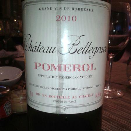 Château Bellegrave Pomerol Red Bordeaux Blend 2010