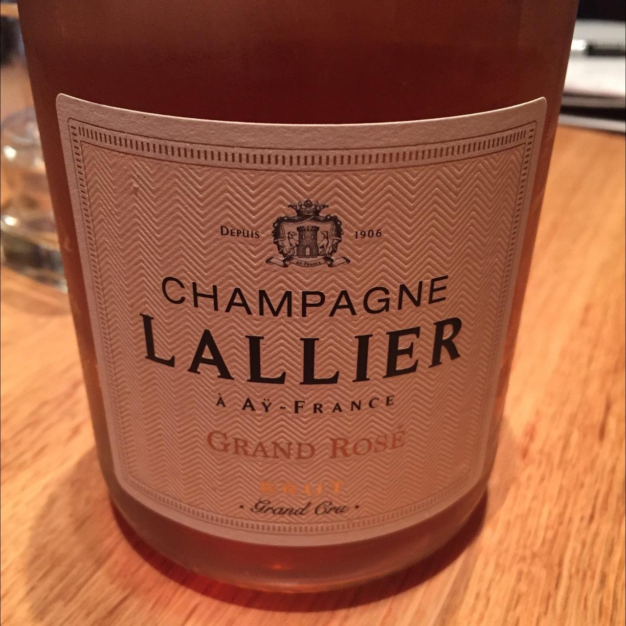 Champagne Lallier Grand Rosé Brut Grand Cru Champagne Blend NV (1500ml)