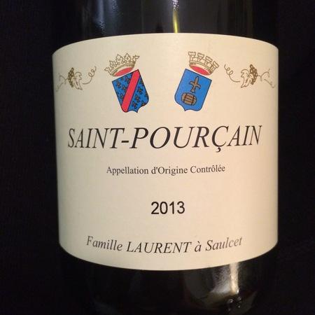 Famille Laurent Saint Pourçain Gamay 2015