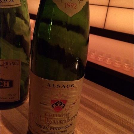 Domaine Zind Humbrecht Vieilles Vignes Tokay Pinot Gris 1989