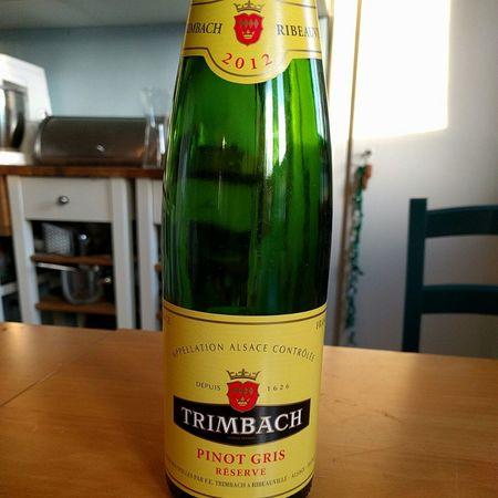 Trimbach Reserve Alsace Pinot Gris 2012