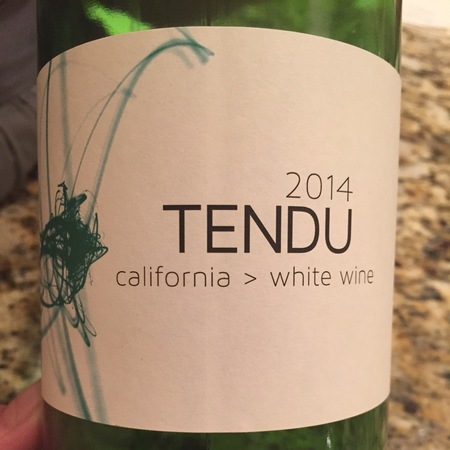 Matthiasson Tendu California Vermentino Blend 2015 (1000ml)
