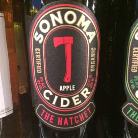 Sonoma Cider The Hatchet Apple Cider NV