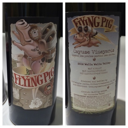 Cayuse Vineyards Flying Pig Red Bordeaux Blend 2012