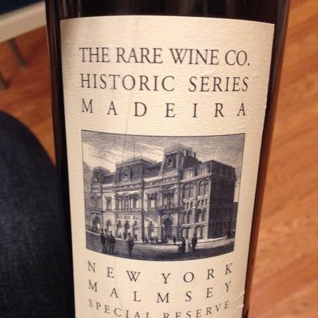 Vinhos Barbeito (Rare Wine Company Historic Series) New York Special Reserve Malmsey Madeira NV