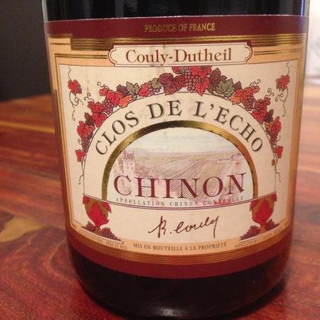 Couly-Dutheil Clos de l'Echo Chinon Cabernet Franc 2001