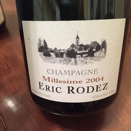 Eric Rodez Grand Cru Millésimé Champagne 2007