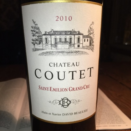 Château Coutet Saint-Émilion Red Bordeaux Blend 2012
