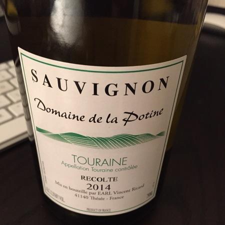 Domaine de la Potine Touraine Sauvignon Blanc 2014