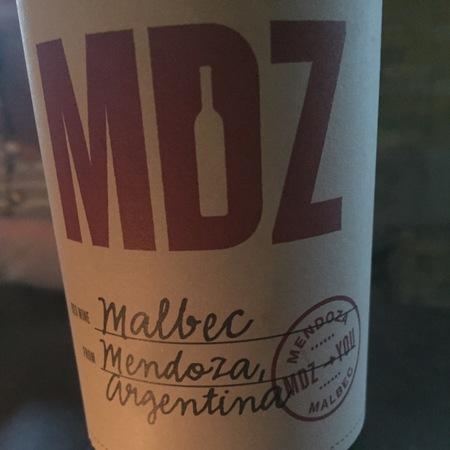 MDZ Mendoza Malbec 2016