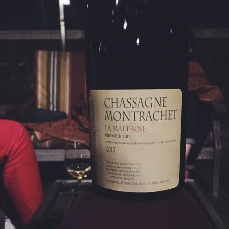 Pierre-Yves Colin-Morey La Maltroie Chassagne-Montrachet 1er Cru Chardonnay 2013